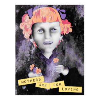 mothers are for loving postcard