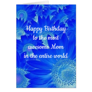 **MOTHER'S BIRTHDAY** WHY SHE IS SO SPECIAL TO YOU CARD