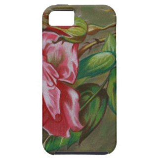 Mother's Dar Rose Flower Case For The iPhone 5