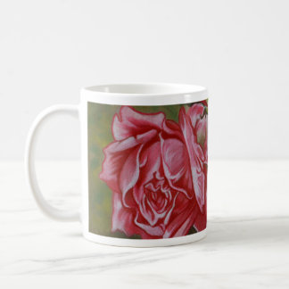 Mother's Dar Rose Flower Coffee Mug