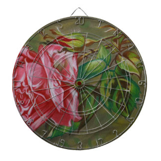 Mother's Dar Rose Flower Dart Boards
