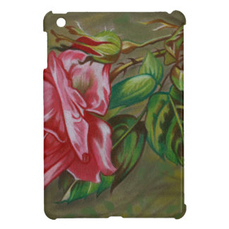 Mother's Dar Rose Flower iPad Mini Cover