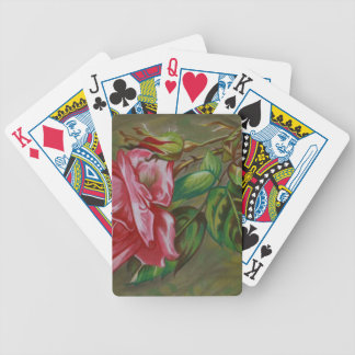 Mother's Dar Rose Flower Poker Deck