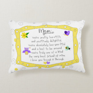 Mother's Day 2017 Decorative Pillow