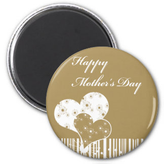 Mothers day 2 inch round magnet