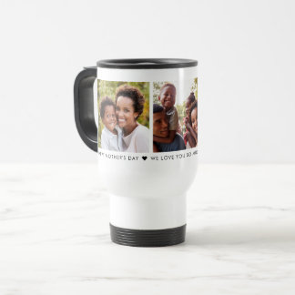 Mother's Day 3 Photo Personalized Travel Mug