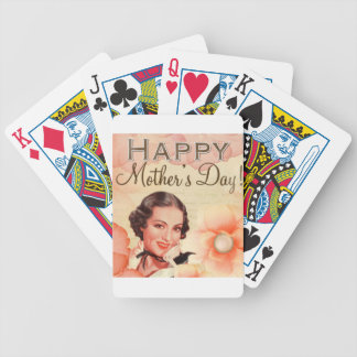 Mothers-Day #8 Bicycle Playing Cards