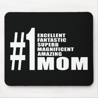 Mothers Day Birthdays Christmas Number One Mom Mousepad