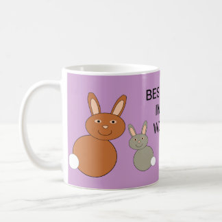 Mothers Day Bunnies Custom Best Mom Mug