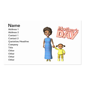 Mothers Day Business Card