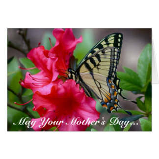Mother's Day Butterfly Greeting Card