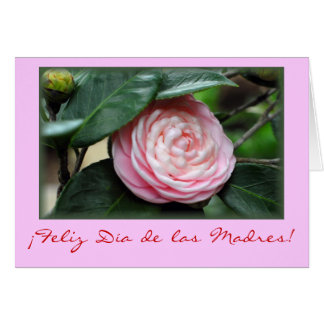 """Mother's day Camellia"" Card"