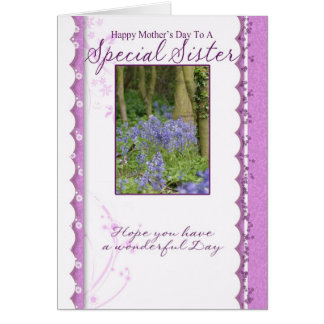 Mother's Day Card, Special Sister Card