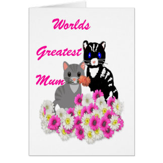 Mother's Day Cats Note Card