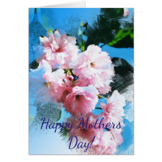 """""""Mothers Day"""" Cherry Blossom Card"""