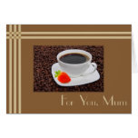 Mothers' Day Coffee Cards