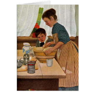 Mothers Day Cooking with Mom Card