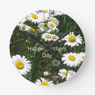 Mothers Day Daisies Daisy Clock