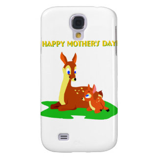 Mothers Day Deer Galaxy S4 Case