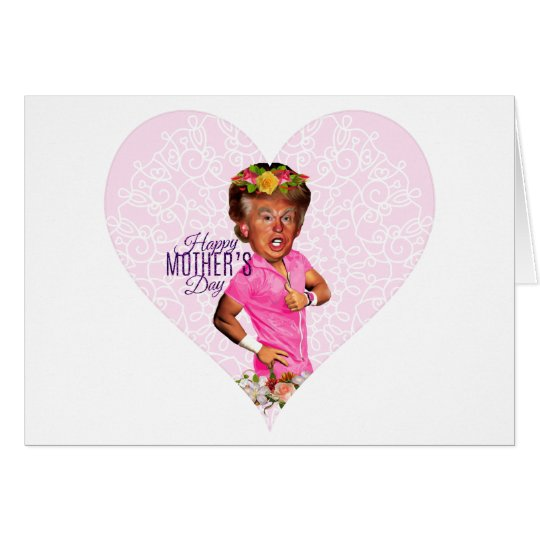 mothers day donald trump card