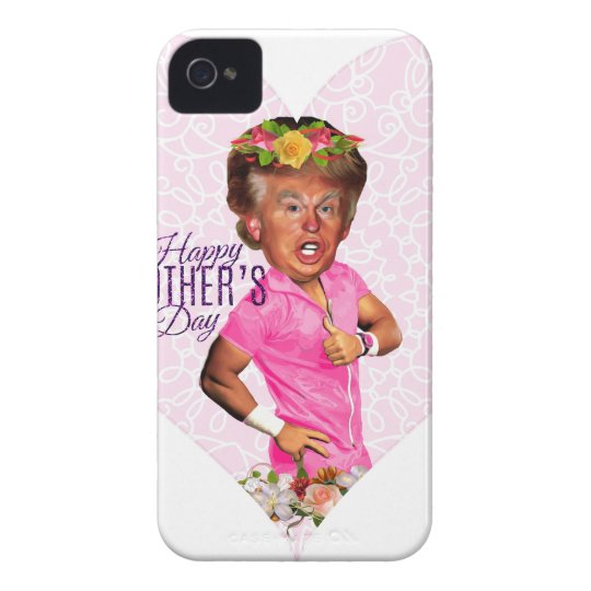 mothers day donald trump Case-Mate iPhone 4 case