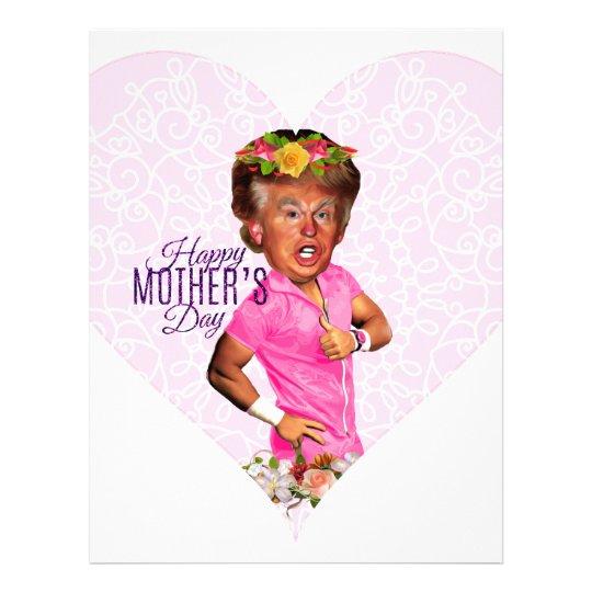 mothers day donald trump letterhead