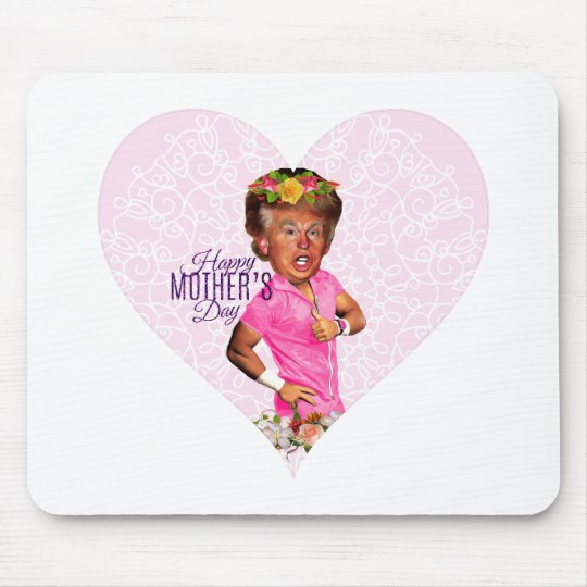 mothers day donald trump mouse pad