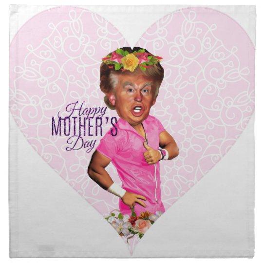 mothers day donald trump napkin
