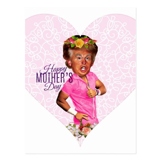mothers day donald trump postcard