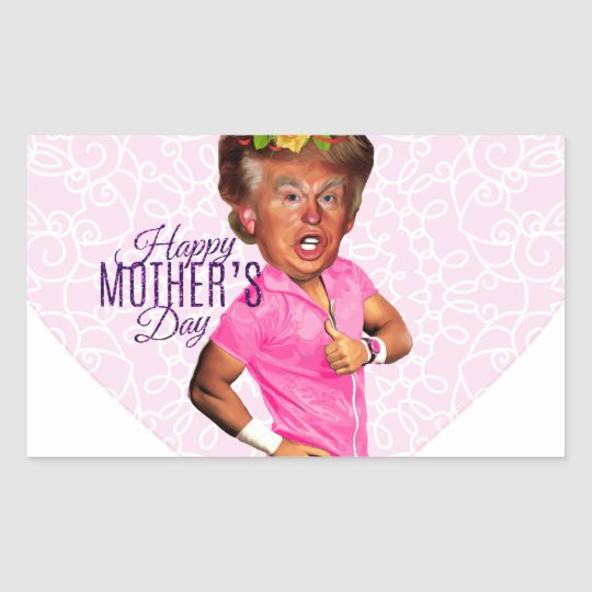 mothers day donald trump sticker
