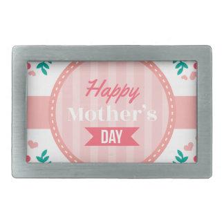 mothers day floral belt buckle