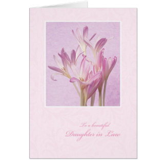 Mother's Day for Daughter in Law Card