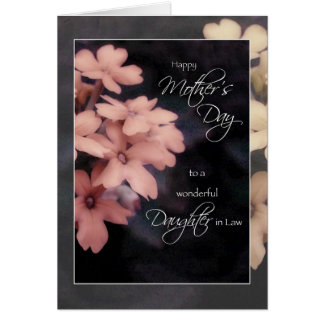 Mother's Day for Daughter In Law, Garden Phlox Card