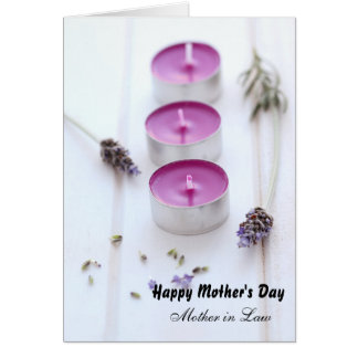 Mother's Day for Mother in law Card