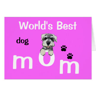 Mothers Day from Dog Card