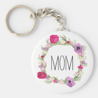 Mother's Day Gift Floral Wreath Keychain