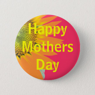 Mothers Day greeting 2 Inch Round Button