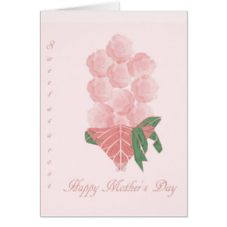Mother's Day greeting card