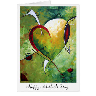Mother's Day Greeting Card Design by MADART