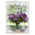 MOTHER'S DAY GREETING - SECRET PAL - LILACS CARD