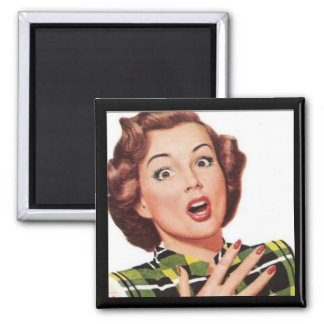 Mother's Day Happy Housewife EEK Funny Magnet