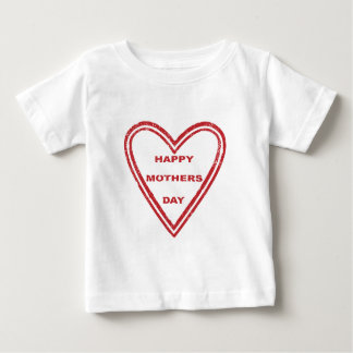Mothers Day Heart Baby T-Shirt