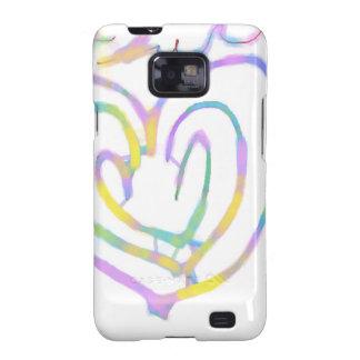 Mother's day heart design samsung galaxy SII case