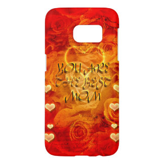 Mother's day, hearts and roses samsung galaxy s7 case