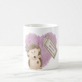 Mothers Day Hedgehog - Classic White Mug