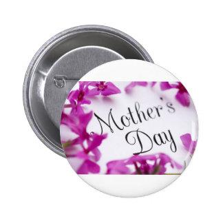Mothers Day, Iris 2 Inch Round Button