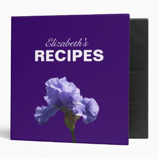 Mother's Day Iris Recipe Binder