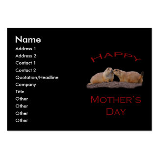 Mother's Day Kiss Business Card Templates