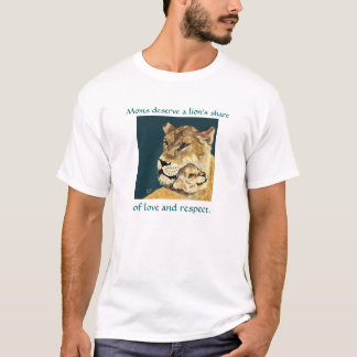 Mother's Day Lioness and Cub tee