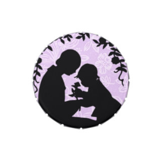 Mothers Day Mom and Child Silhouette